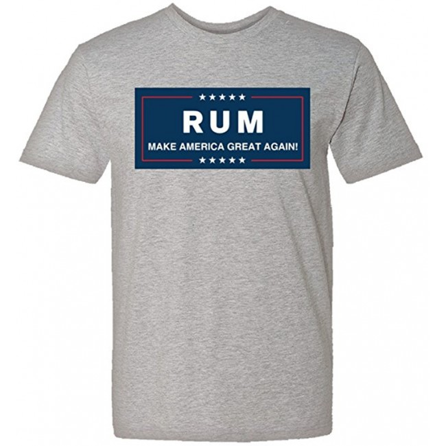a3ed51d8 RUM MAGA Donald Trump Spoof - Make America Great Again Shirt