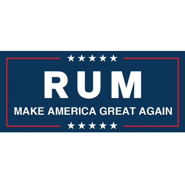 Rum Maga Donald Trump Spoof Make America Great Again Shirt