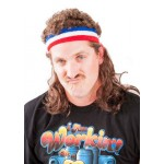 The Bobcat Headband With Hair Mullet