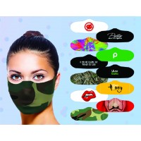 Assorted Printed Face Masks Novelty Pack of 7