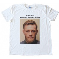 Conor McGregor NYC Mugshot Tee Shirt