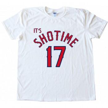 It's SHOTIME 17  Shohei Ohtani Angels Tee Shirt