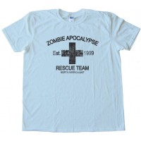 Zombie Apocalypse Resue Team -Tee Shirt