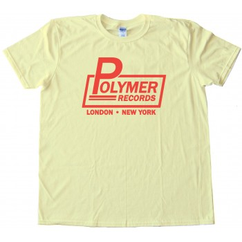 Polymer Records Logo Spinal Tap Tee Shirt