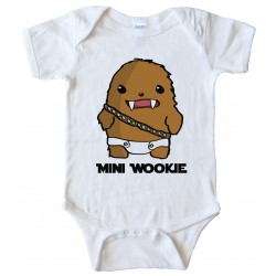 Mini Wookie Baby Chewbacca Bodysuit