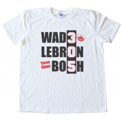 Three Kings Miami Heat Wade Lebron Bosh