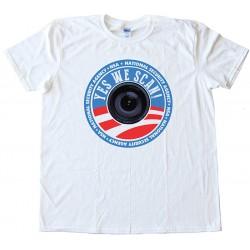 Yes We Scan Nsa Tee Shirt