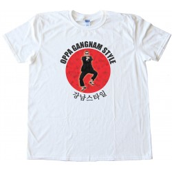 Oppa Gangnam Style Icon Tee Shirt