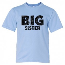 Youth Sized Big Sister - Tee Shirt