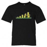 Youth Sized Lego Evolution Lego Man - Tee Shirt