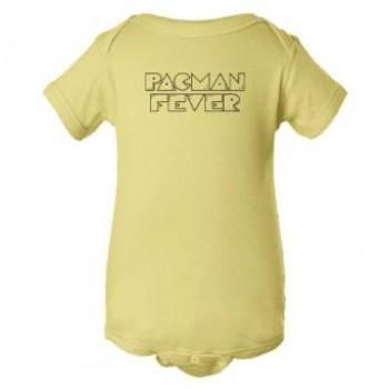 Baby Bodysuit Pacman Fever Classic Gaming Logo
