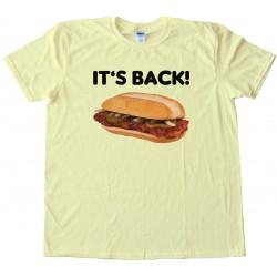 Mcrib Its Back Mcdonalds