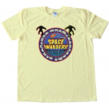 1978 Space Invaders Bally Midway Classic Video Gamer - Tee Shirt