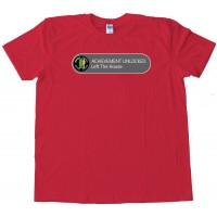 Achievement Unlocked Left The House - Tee Shirt