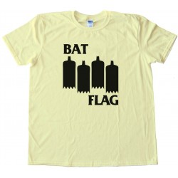 Bat Flag - Black Flag Meme - Tee Shirt