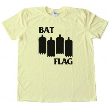 Bat Flag - Black Flag Meme - Tee Shirt