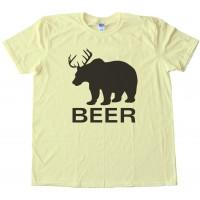 Bear Deer Beer - Tee Shirt