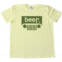 Beer Jeep Logo Tee Shirt