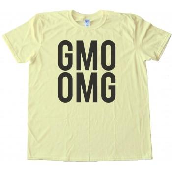 Big Text Gmo Omg - Tee Shirt