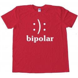 Bipolar Smiley Face - Tee Shirt