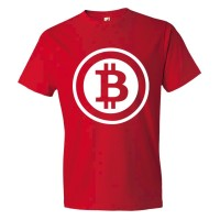 Bitcoin Coin Image Online Currency - Tee Shirt
