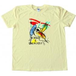 Boring And Unlikable Daffy Duckalike - Tee Shirt