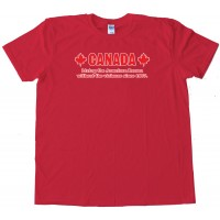 Canada Living The American Dream - Tee Shirt