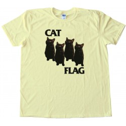 Cat Flag Tee Shirt