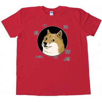Doge Circle Shiba Inu Amazing - Tee Shirt
