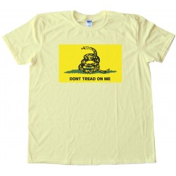 Don'T Tread On Me Flag Tee Shirt