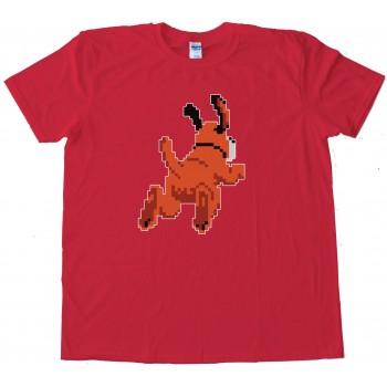 Duck Hunt Dog Leaving - Tee Shirt