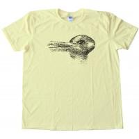 Duck Season Rabbit Season - Optical Illusion - Tee Shirt