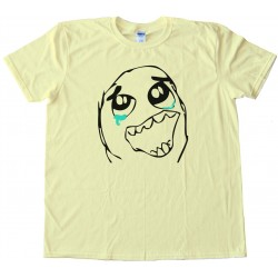 Epic Win Rage Comic Face Tee Shirt