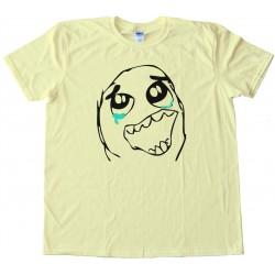 Epic Win Rage Comic Face Tee Shirt