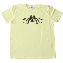 Fsm Symbol - The Flying Spaghetti Monster - Tee Shirt