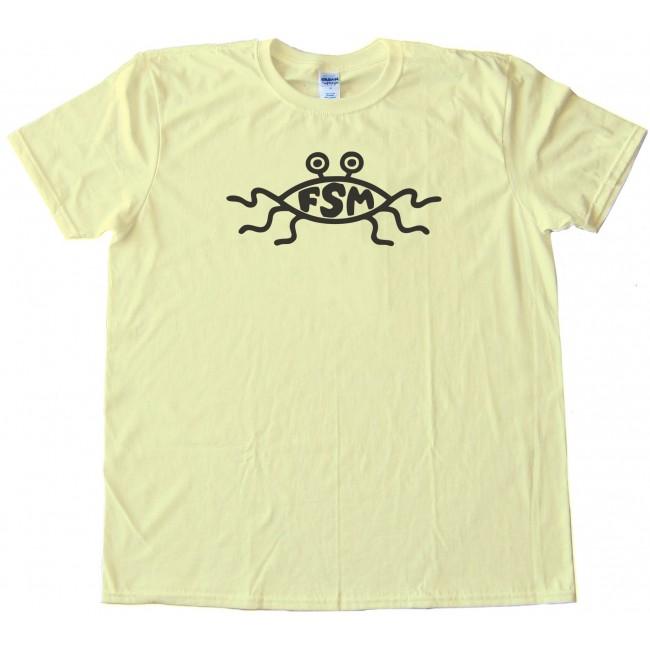 Fsm Symbol The Flying Spaghetti Monster Tee Shirt