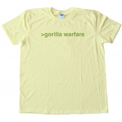 Gorilla Warfare - Tee Shirt