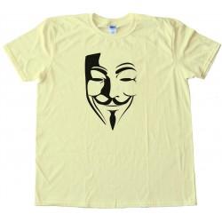 Guy Fawkes Mask - Epic Fail Guy - Tee Shirt