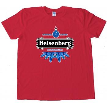 Heisenberg Heineken Logo - Tee Shirt