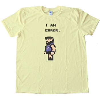 I Am Error - The Legend Of Zelda - A Link To The Past Freak Character - Tee Shirt