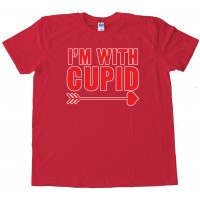 I'M With Cupid Valentine'S Day - Tee Shirt