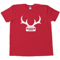 Jeep Deer Antlers Amc - Tee Shirt