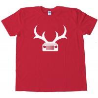 Jeep Deer Antlers Amc - Tee Shirt