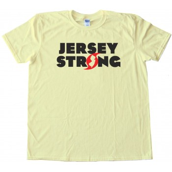 Jersey Strong Hurricane Sandy Superstorm Survivor - Tee Shirt