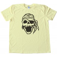 Laughing Pirate Skull - Tee Shirt
