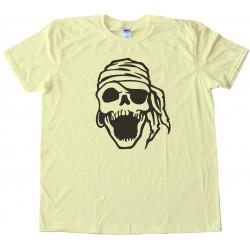 Laughing Pirate Skull - Tee Shirt