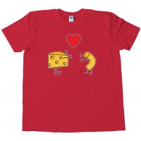 Mac & Cheese Together Forever - Tee Shirt