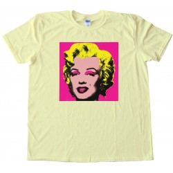 Marylin Monroe Pop Art - Tee Shirt