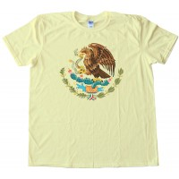 Mexico Flag Center - Tee Shirt