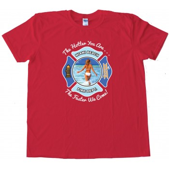 Miami Beach Fire Department - Tee Shirt
